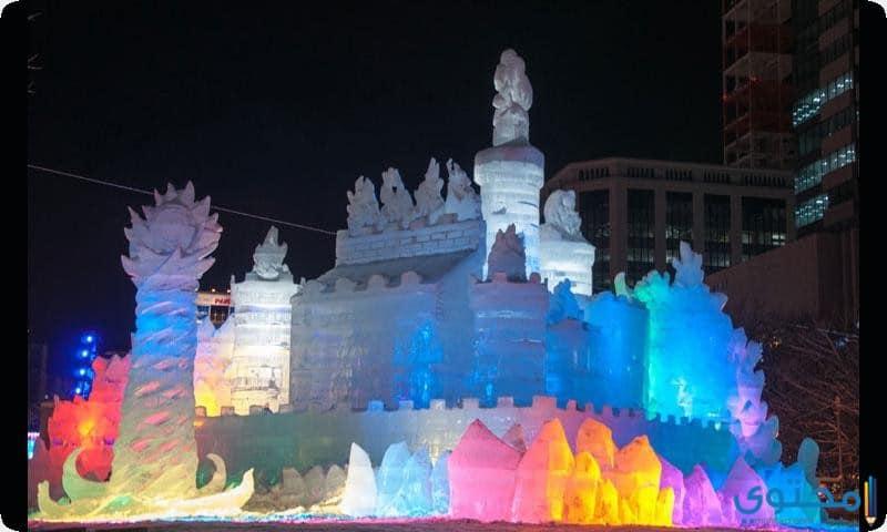 """مهرجان """"الثلج و الجليد"""""""