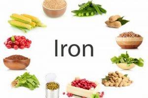 اهم الأغذية التي تحتوى على عنصر الحديد