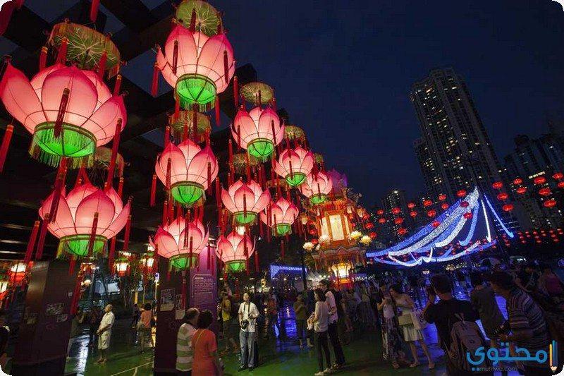 """مهرجان """" الخريف"""" في هونج كونج"""
