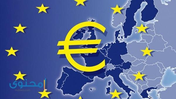 الدول التي تستخدم اليورو