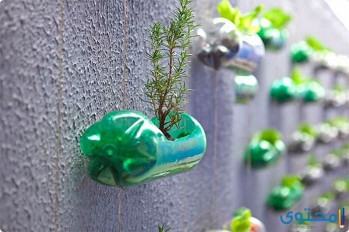 الزجاجات البلاستيكية الفارغة