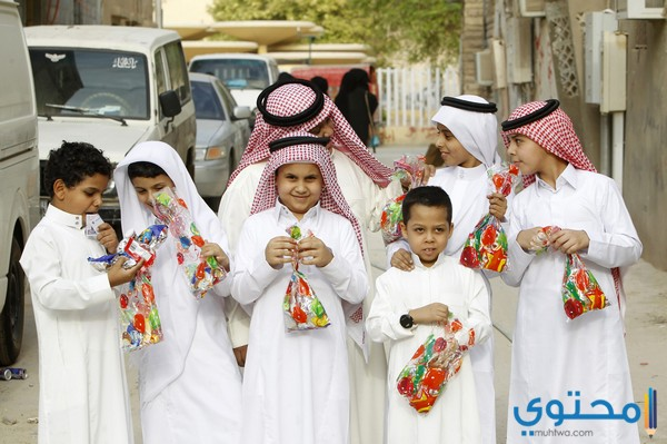 احلي صور العيد الصغير بسكويت وهدايا العيد - موقع محتوى