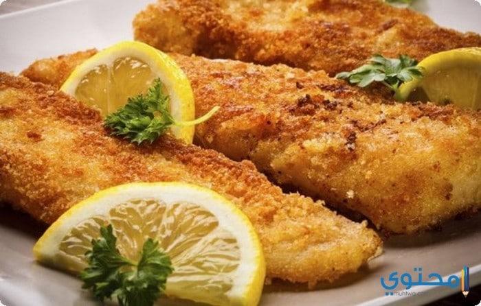 السمك الفيلية المقلى