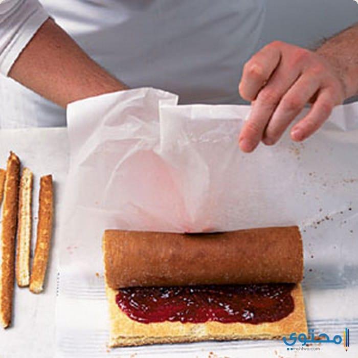 طريقة عمل السويسرول (الحلويات الغربية) - موقع محتوى