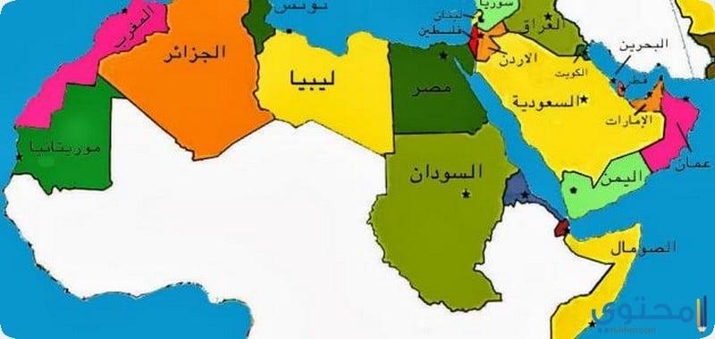 الدول العربية