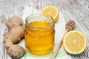 العلاج بالعسل والزنجبيل