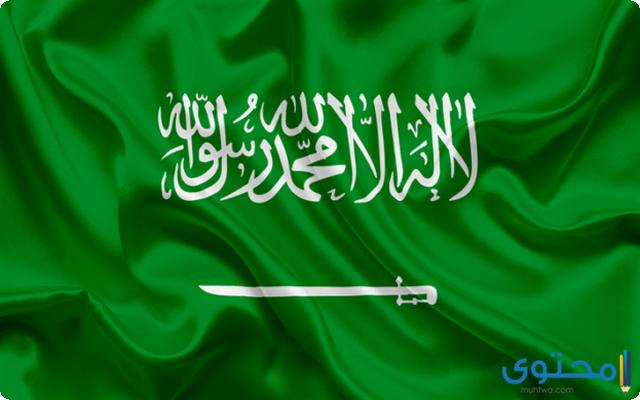 إذاعة مدرسية عن العلم السعودي
