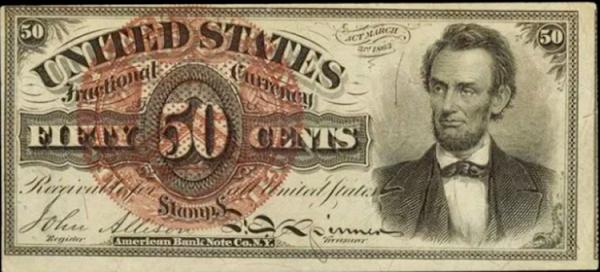 العملات الكسرية بالولايات المتحدة الأمريكية