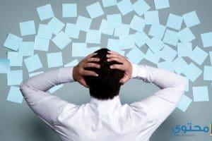 أعراض وأسباب القلق النفسي