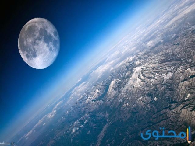 القمر كوكب ام نجم
