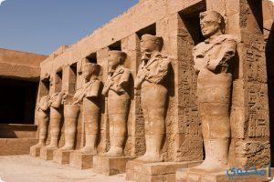 أسماء المعابد الفرعونية