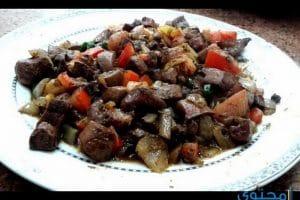 بالصور طريقة تحضير الكلاوى اكلات مصرية