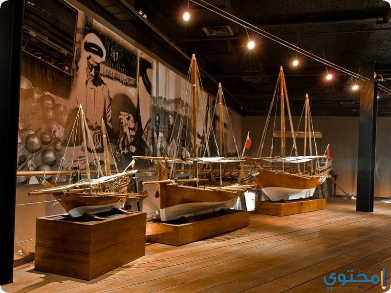 إحدى قاعات متحف الكويت الوطني