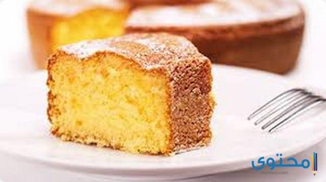 الكيكة الإسفنجية