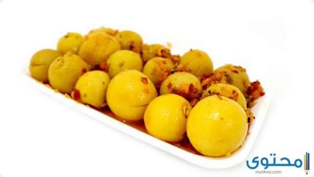 طريقه عمل مخلل الليمون السريع