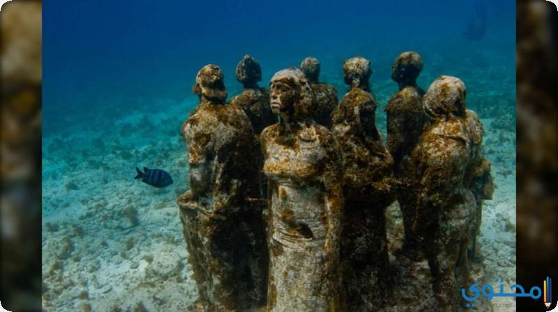 متحف تحت الماء – المكسيك