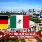 موعد مباراة المانيا والمكسيك في كاس العالم 2018