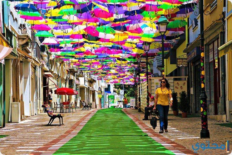 مهرجان المظلات في البرتغال