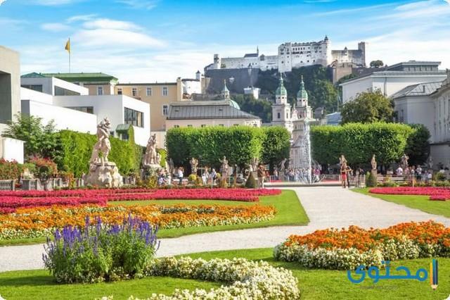 حدائق ميرابيل في النمسا