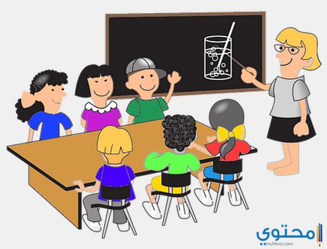 المعلم قدوة طلابه