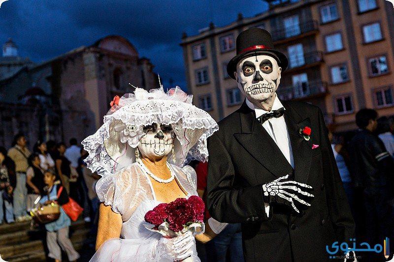 """مهرجان """" يوم الموت """" في المكسيك"""