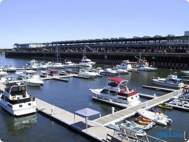 الميناء القديم من مونتريال