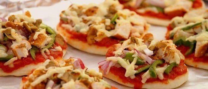 طريقة عمل المينى بيتزا