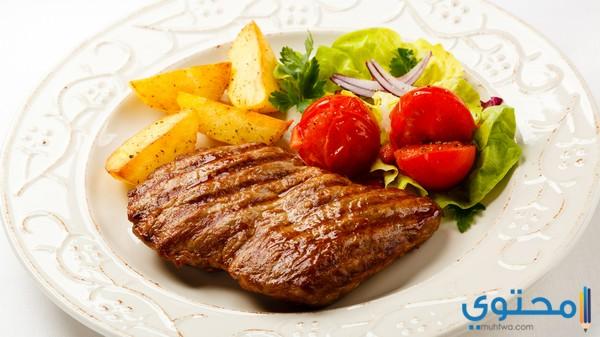 تناول البروتينات اللازمة للجسم