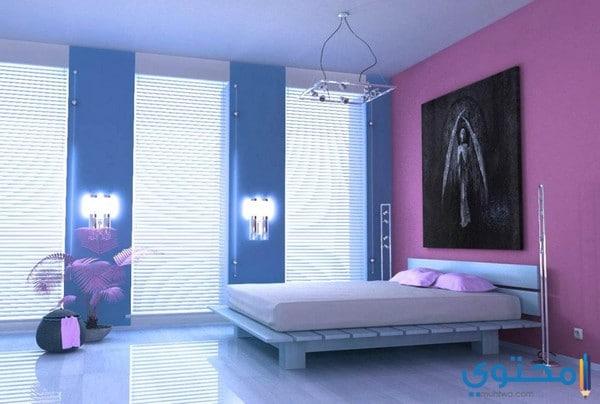 ألوان غرف نوم حديثة مودرن 2019 موقع محتوى
