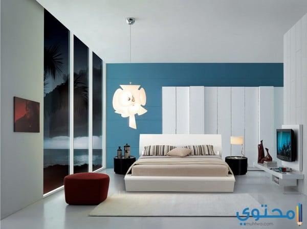 ألوان دهانات غرف نوم حديثة