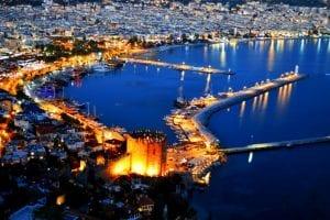 صور السياحة في مدينة أنطاليا التركية