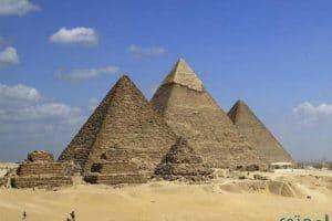 معلومات تاريخية عن أهرامات الجيزة