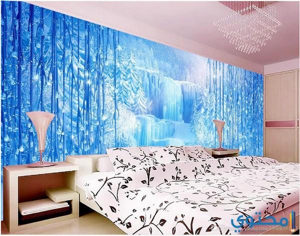 تصاميم ورق حائط ثلاثي الأبعاد