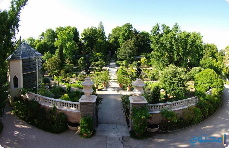 حدائق أورتو بوتانيكو دي بادوفا إيطاليا