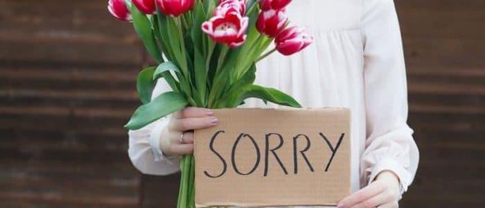بحث عن أهمية الاعتذار بالعناصر الرئيسيه