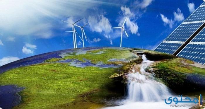 بحث عن مصادر الطاقة بالعناصر
