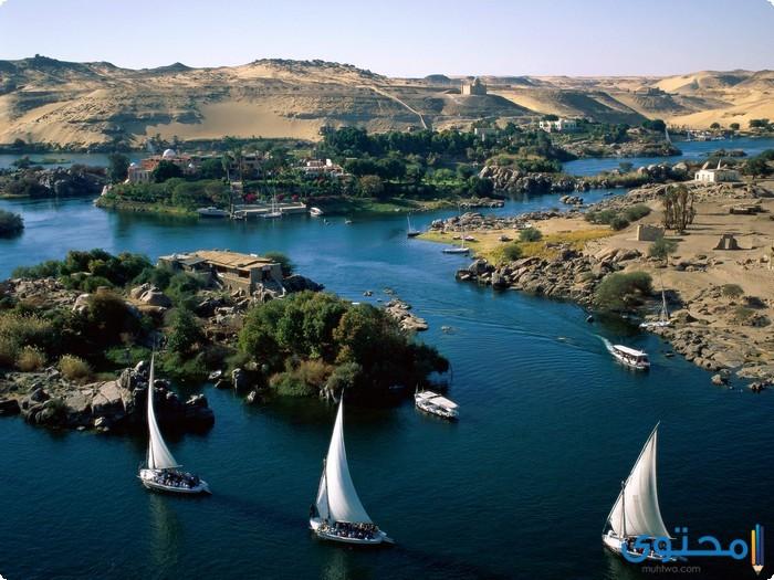 بحث عن نهر النيل وأهميته في الحياه