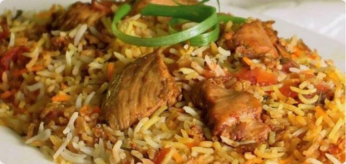 بريانى هندى بالدجاج