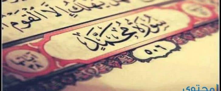 أهم مضامين سورة محمد وسبب تسميتها بسورة القتال