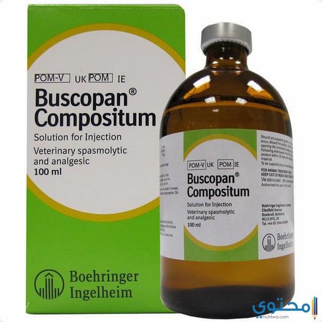 دواعي استعمال دواء بوسكوبان كومبوزيتم