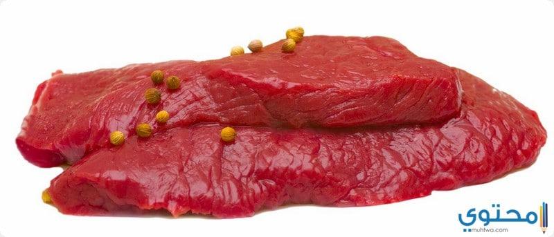 القيمة الغذائية للحم النعام