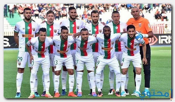 لاعبي نادي مولودية الجزائر