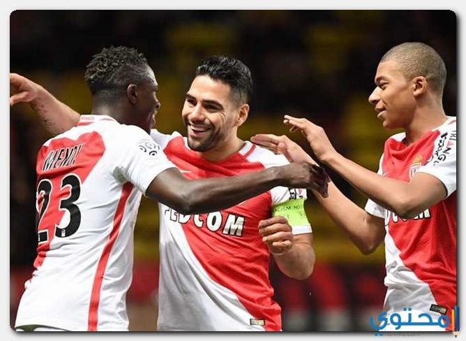 بعض لاعبي موناكو
