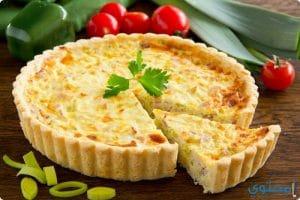 كيفية تحضير تارت الجبن (تورتة الجبنة)