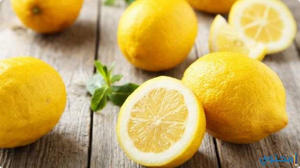 وصفة الكركم والليمون
