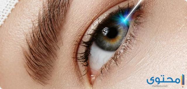 تحرك العدسات في العين