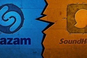 تحميل تطبيق SoundHound وShazam للأغاني