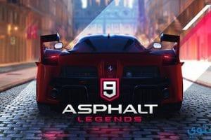 تحميل لعبة Asphalt 9 Legends مجاناً