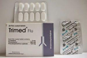 ترايمد فلو Trimmed Flo لعلاج نزلات البرد