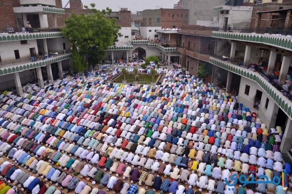 صلاة العيد في تركيا